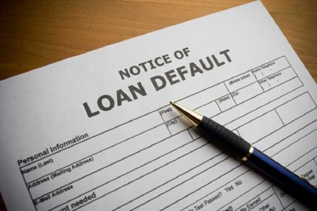 Loans from the internet under test
